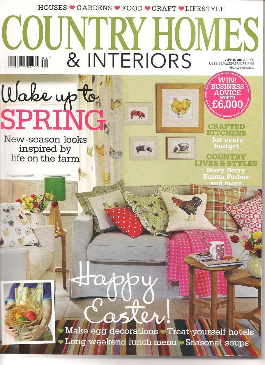 Country homes spencer bray for Home living magazines